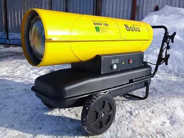 купить дизельную тепловую пушку прямого нагрева в Красноярске с доставкой