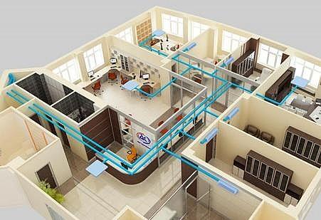 Охлаждение нескольких комнат мульти сплит системой