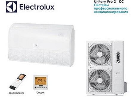 Напольно-потолочные кондиционеры Electrolux Unitary Pro 2