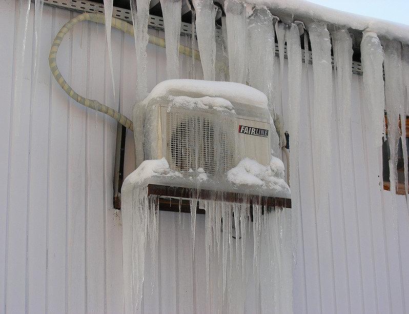 зимняя эксплуатация кондиционеров в красноярске чревата серьезными проблемами