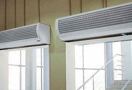 Защите проема от холодного воздуха недорогой завесой Neoclima