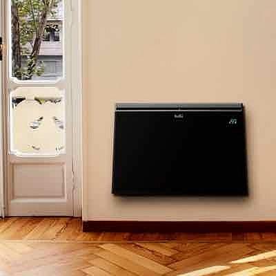 Черный конвектор Ballu Plaza из стеклокерамики. Купить в Красноярске в интернет-магазине плюс доставка.