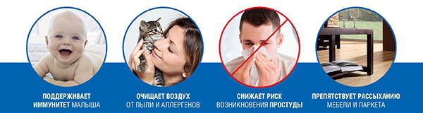 увлажнитель воздуха venta купить в Красноярске с доставкой